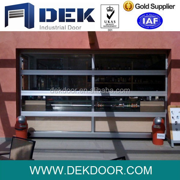 Glass panel overhead door price