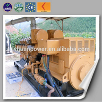 waste wood generation electricity biomass power plant biomass gasifier /wood gas generator