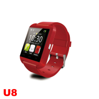 MTK WristWatch U8 Watch Smart Bluetooth Watch for iPhone 4/4S/5/5S Samsung S4/Note 2/Note 3 Android Phone Smartphones