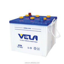 Special model 6TN 12V100AH hybrid car battery for sale