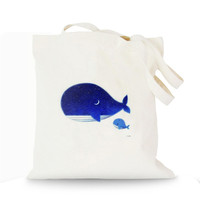 Natural Recycled Simple Blue Ocean Fish