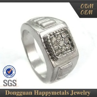 Best Choice! Jewelry Stainless Steel Engagement Ring For Indian Couple