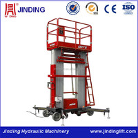 2016 New coming mobile electric aluminum car lift tables