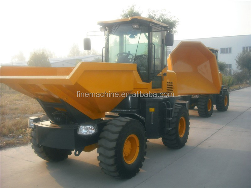 3ton Medium-sized site dumper for sale