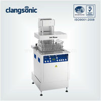 Industrial 28/40KHz manual or fully-automatic large stianless steel ultrasonic cleaner machine for medical equipments cleaning