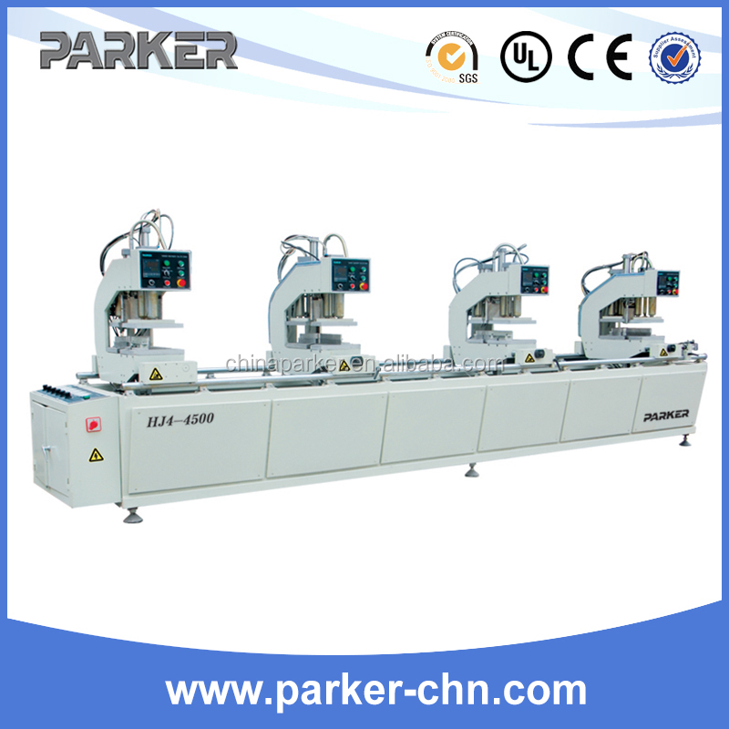 PVC Door-Window vertical 4-Corner Welding Machine with CNC/upvc frame welding machinery