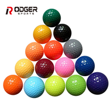 Bulk crazy golf driving range balls colored promotion ball for sale