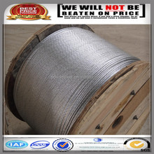 galvanized stranded overhead ground wire/ stay wire