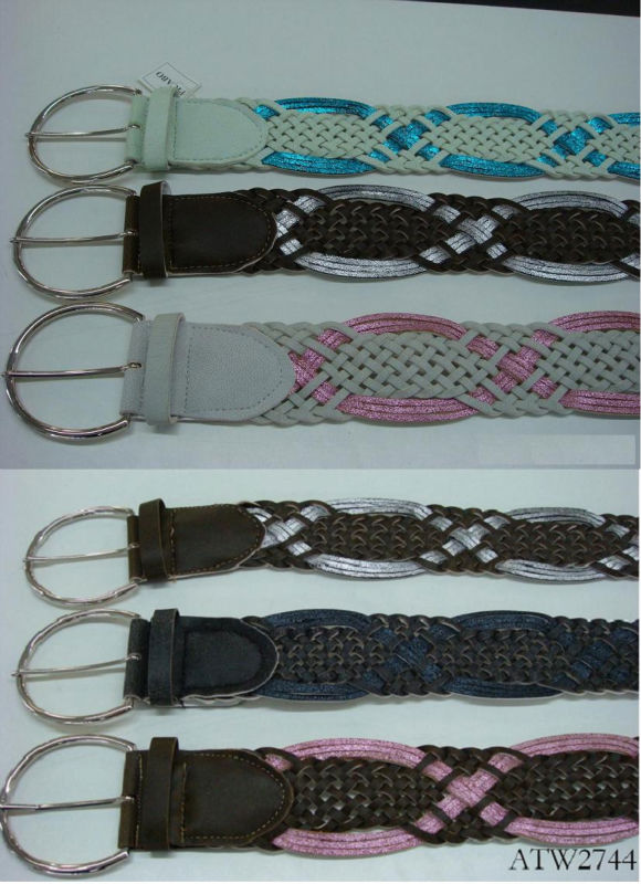 women's fashion woven belt
