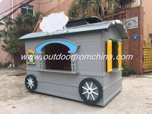 Lovely outdoor Coffee cart, Coffee booth, Coffee shop for Street