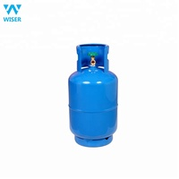Empty Refillable Steel Made 12kg lpg gas cylinder for sale with high quality