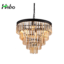New design luxury chandelier crystal stairs chandelier light with CE certificate,classical lighting lustre crystal