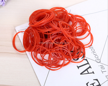 High Quality Red Rubber Band/ Unbreakable Elastic Rubber Band 25mm
