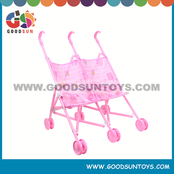 2015 New baby stroller for twins doll stroller made in china
