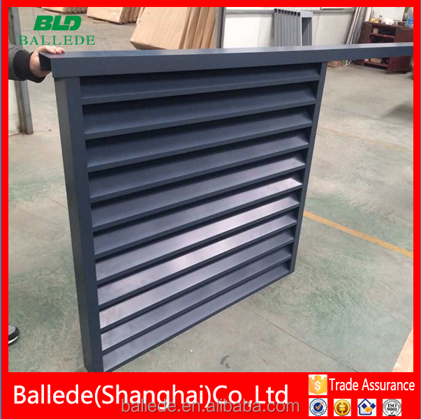 prefabricated aluminum wall ventilation louvers
