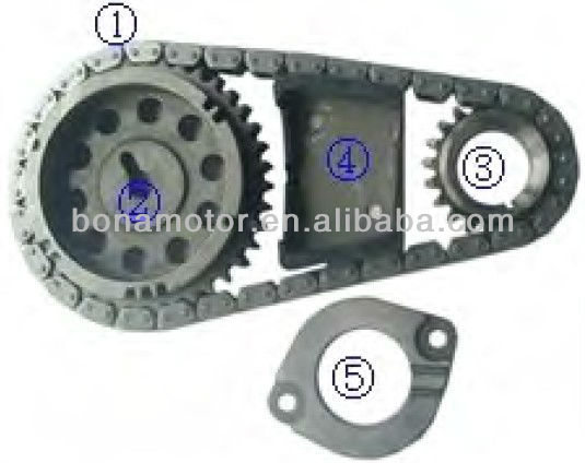 For DODGE 3.8L 230ci EGL,EGH V6 96-04 timing chain kits