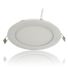 6W Ultrathin Round Led Panel Light Manufactures Shenzhen