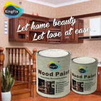 KINGFIX pu resistance to scratching clear furniture wood clear varnish wood lacquer