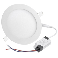 3w 6w 9w 12w 15w 18w 24w 40w 48w smd 2835 round / square ultra slim flat recessed led panel light