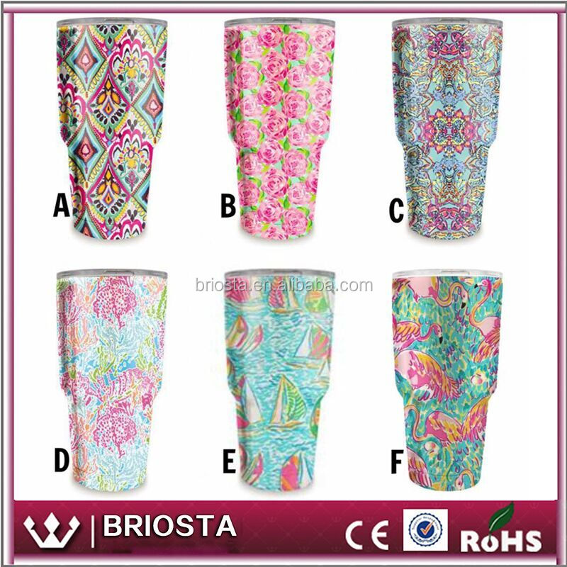 Hot Selling Personalized No Monogram Lilly Tumblers
