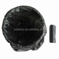 HDPE Standard Recyclable colors Plastic Garbage Bags on roll