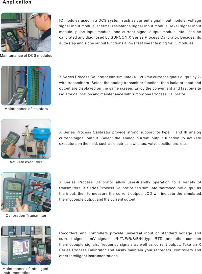 Portable multifunction process temperature calibrator 4-20ma