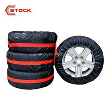 waterproof polyester steel spare tire cover for car