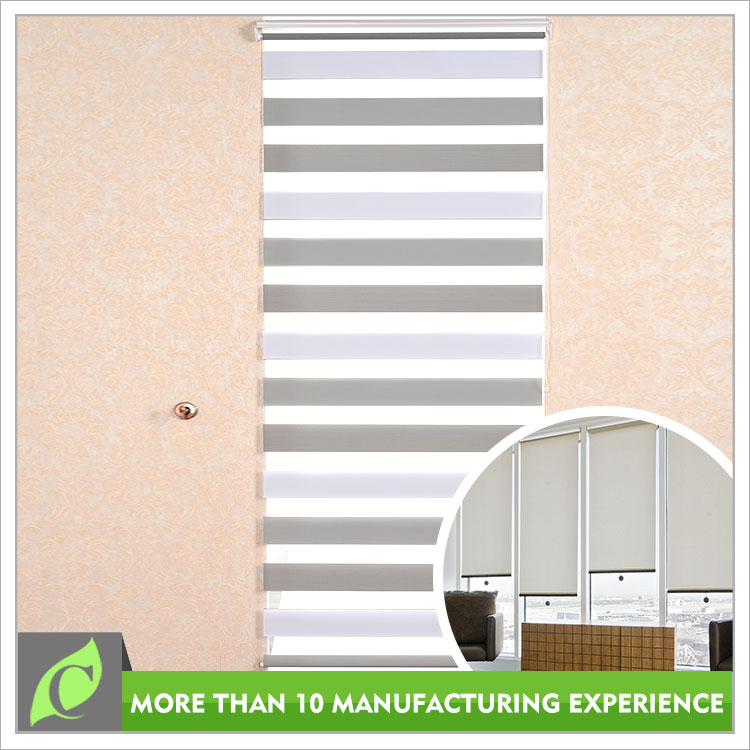 Home decoration Window use Blackout venetian blind, zebra blind