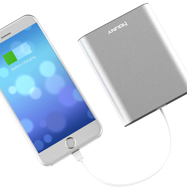 New portable power bank mi charger/ external battery pack with aluminium case (MD04)