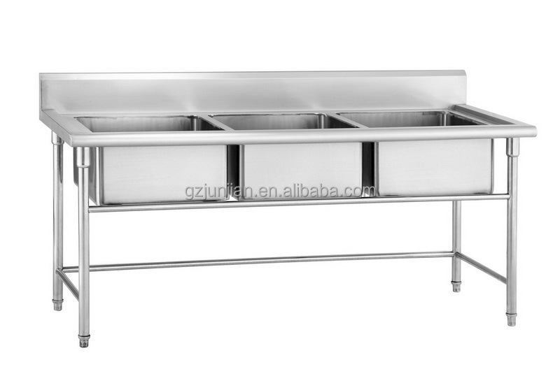 Buy Free Standing Stainless Steel Kitchen Sink,Kitchen Stainless Steel ...
