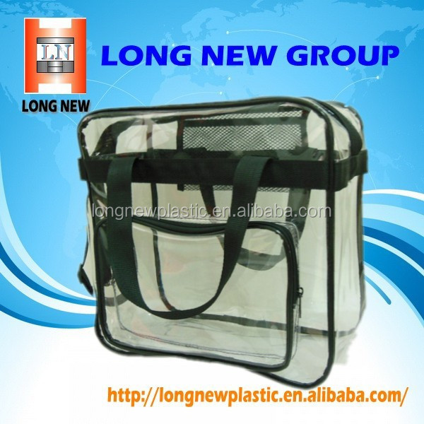 E china suppliers hot selling clear cosmetic pvc bag