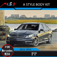 High Quality MLSD Hot Sale A style body kit for Mercedes-Benz W204 C Class 12-14