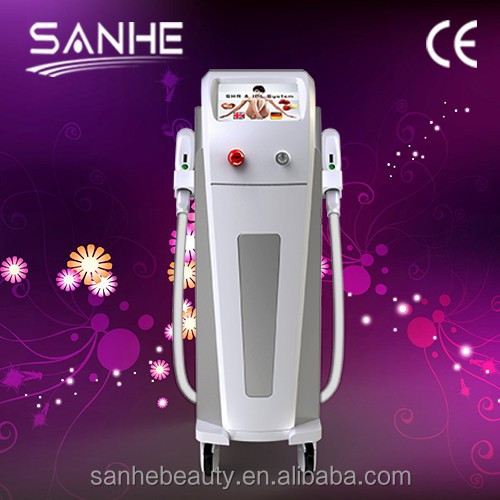 IPL + E-light + SHR hair removal and skin rejuvenation system/home use ipl hair removal machine