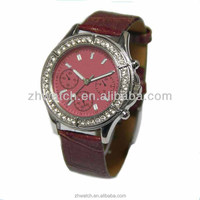 2013 ladies new style leisure watch fashion hot wholesale popular in Europe and America market cheap wacthes