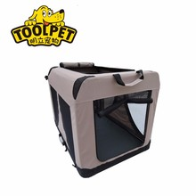 Portable dog crates for large dogs display pet cage