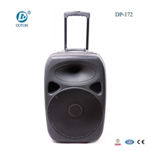 15 Inch Pa Speaker System Bluetooth Active Portable Trolley Speaker DP-172