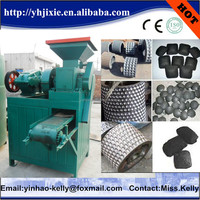 Screw press bricket machine make sawdust charcoal briquettes for ozark oak