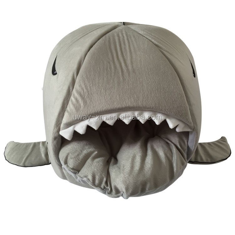 2015 Hot Sale Plush Shark Pet Bed
