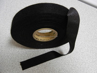Black Fleece Tape Wire Harness Wrap Quiet Automotive Application