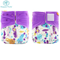 Wholesale custom Cloth Diaper Nappy washable Printed Diapers for baby