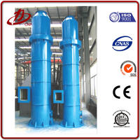 Dust cyclone separator for flour mill
