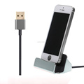 Charger cable magnetic phone stand for iphone 6s