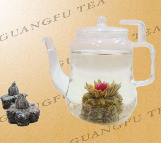 Artistic Handmade Flower Blooming Tea for skin beauty