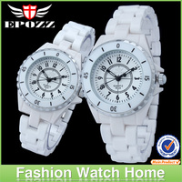 New arrival luxury high quality ceramic couple watches latest couple watches