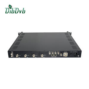 Low cost wireless tv broadcasting system digital headend DVB-T2 rf modulator(DVB-T Cofdm channel increased 30%)