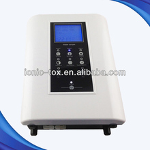 Water ionizer alkainer with prefilters remove heavy metal from body