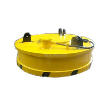 Excavator Circular Lifting Magnet with Bracket for Lifting Scrap