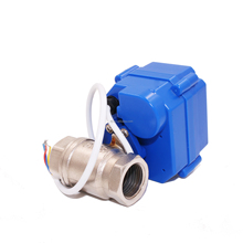 Self Close when Power Off ACDC9-24V Motor Electric Control Valve
