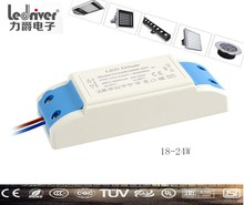 600mA Led Dc 42v 18w Power Supply Approved Single Output 24 watt Led Driver Tuv