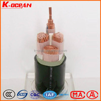 International Standard 2/3/4/5Core XLPE Insulated PVC Sheathed Electric Power Cable